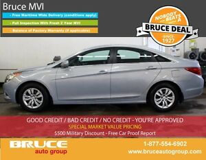 2011 Hyundai Sonata GL 2.4L 4 CYL AUTOMATIC FWD 4D SEDAN SATELLI
