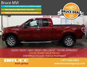 2014 Ford F-150 XTR 5.0L 8 CYL AUTOMATIC 4X4 SUPERCAB SATELLITE