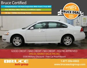 2012 Chevrolet Impala LT 3.6L 6 CYL AUTOMATIC FWD 4D SEDAN BLUET