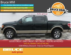 2012 Ford F-150 LARIAT 5.0L 8 CYL AUTOMATIC 4X4 SUPERCREW NAVIGA