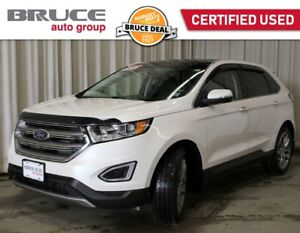 2018 Ford Edge TITANIUM - LEATHER INTERIOR / AWD / SUN ROOF