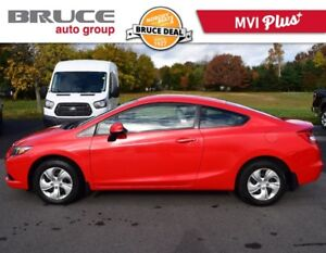2013 Honda Civic LX - HEATED SEATS / COUPE / POWER PACKAGE