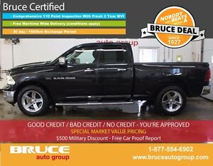 2011 Dodge RAM 1500 BIG HORN 5.7L 8 CYL HEMI AUTOMATIC 4X4 CREW