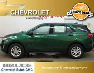 2018 Chevrolet Equinox LS 1.5L 4 CYL TURBO AUTOMATIC AWD
