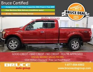 2015 Ford F-150 XTR 5.0L 8 CYL AUTOMATIC 4X4 SUPERCAB SPRAY-ON B