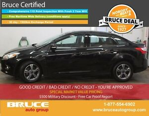 2014 Ford Focus SE 2.0L 4 CYL AUTOMATIC FWD 4D SEDAN HEATED SEAT