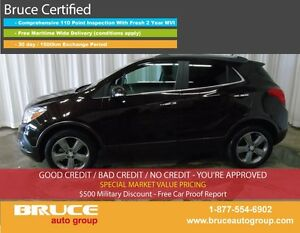 2014 Buick Encore CX 1.4L 4 CYL TURBOCHARGED AUTOMATIC FWD BOSE