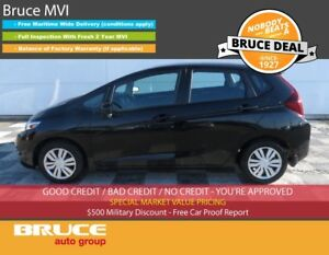 2015 Honda Fit LX 1.5L 4 CYL CVT FWD 5D HATCHBACK HEATED SEATS,