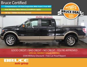 2014 Ford F-150 KING RANCH - LEATHER SEATS/NAVIGATION/SUN ROOF R