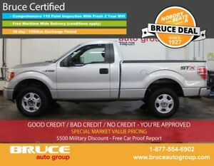2014 Ford F-150 STX 3.7L 6 CYL AUTOMATIC 4X4 REGULAR CAB