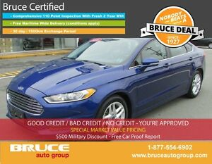 2016 Ford Fusion SE 2.5L 4 CYL AUTOMATIC FWD 4D SEDAN SATELLITE