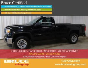 2015 GMC Sierra 1500 REG CAB LONGBOX (8FT) 5.3L - ULTRA RARE WOR