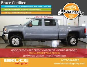 2016 GMC SIERRA 2500 HD SLE 6.0L 8 CYL AUTOMATIC 4X4 CREW CAB RE