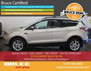 2017 Ford Escape SE 1.5L 4 CYL ECOBOOST AUTOMATIC FWD LEATHER IN