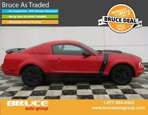 2005 Ford Mustang 4.0L 6 CYL 5 SPD MANUAL RWD 2D COUPE