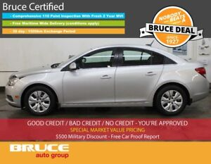 2014 Chevrolet Cruze LT 1.4L 4 CYL AUTOMATIC FWD 4D SEDAN REMOTE
