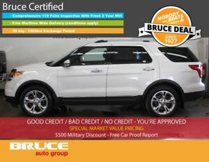 2013 Ford Explorer LIMITED 3.5L 6 CYL AUTOMATIC AWD LEATHER INTE