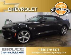 2017 Chevrolet Camaro 2SS 6.2L 8 CYL 6 SPD MANUAL RWD CONVERTIBL