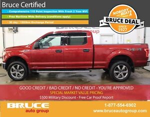 2015 Ford F-150 XLT 5.0L 8 CYL AUTOMATIC 4X4 SUPERCREW SATELLITE