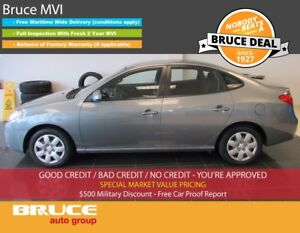 2010 Hyundai Elantra L 2.0L 4 CYL 5 SPD MANUAL FWD 4D SEDAN