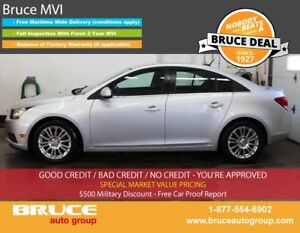 2011 Chevrolet Cruze ECO 1.4L 4 CYL TURBOCHARGED MANUAL FWD 4D S