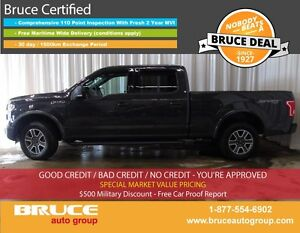 2016 Ford F-150 XLT 5.0L 8 CYL AUTOMATIC 4X4 SUPERCAB REMOTE VEH