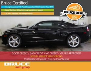 2015 Chevrolet Camaro SS 6.2L 8 CYL 6 SPD MANUAL RWD 2D COUPE HE