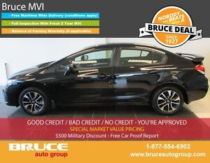2014 Honda Civic EX 1.8L 4 CYL I-VTEC CVT FWD 4D SEDAN