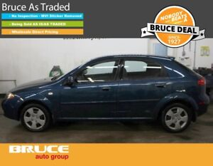 2007 Chevrolet Optra LS 2.0L 4 CYL AUTOMATIC FWD 5D HATCHBACK