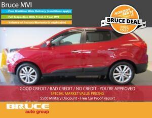 2012 Hyundai Tucson LIMITED 2.4L 4 CYL AUTOMATIC AWD LEATHER INT