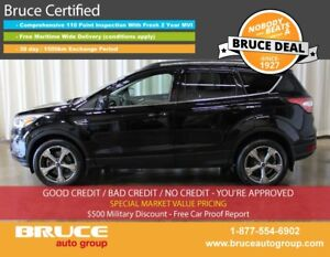 2017 Ford Escape SE 1.5L 4 CYL ECOBOOST AUTOMATIC 4WD BACK-UP CA
