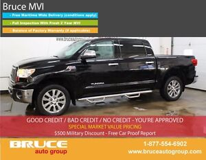 2011 Toyota Tundra PLATINUM EDITION 5.7L 8 CYL AUTOMATIC 4X4 CRE