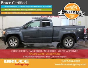 2015 GMC Canyon SLE 3.6L 6 CYL AUTOMATIC 4X4 EXTENDED CAB 4G LTE