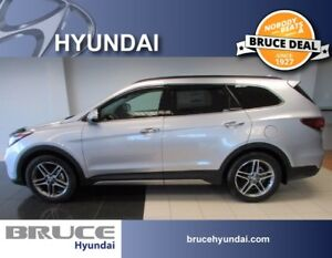 2017 Hyundai Santa Fe XL LIMITED 3.3L 6 CYL AUTOMATIC AWD