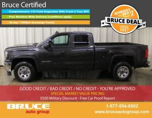 2016 GMC Sierra 1500 WT 5.3L 8 CYL AUTOMATIC 4X4 EXTENDED CAB BA