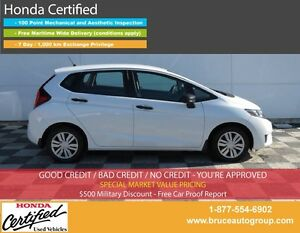 2015 Honda Fit DX 1.5L 4 CYL 6 SPD MANUAL FWD 5D HATCHBACK BACK-