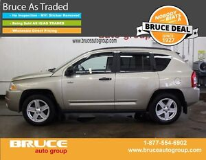 2009 Jeep Compass 2.0L 4 CYL CVT FWD