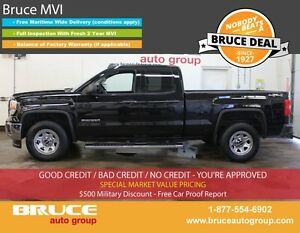 2015 GMC Sierra 1500 WT 4.3L 8 CYL AUTOMATIC 4X4 EXTENDED CAB BA