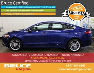 2014 Ford Fusion SE 2.0L 4 CYL ECOBOOST AUTOMATIC AWD 4D SEDAN N