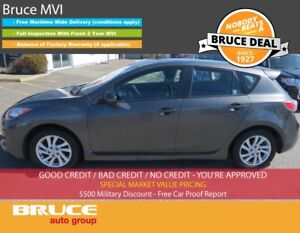 2012 Mazda Mazda3 GS 2.0L 4 CYL 6 SPD MANUAL FWD 5D HATCHBACK SA