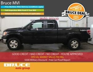2012 Ford F-150 XLT 5.0L 8 CYL AUTOMATIC 4X4 SUPERCAB