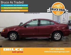 2005 Pontiac Grand Am SE 3.4L 6 CYL AUTOMATIC FWD 4D SEDAN