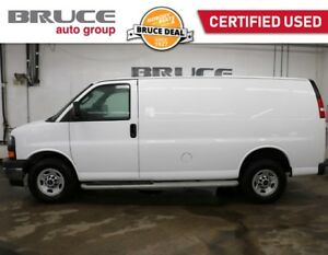 2017 GMC Savana 2500 CARGO VAN - CRUISE / AIR / POWER PACKAGE