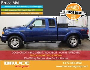 2011 Ford Ranger SPORT 4.0L 6 CYL 5 SPD MANUAL 4X4 EXTENDED CAB