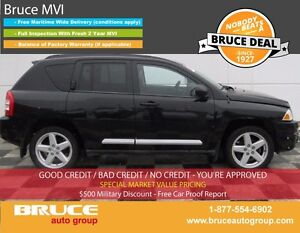 2010 Jeep Compass LIMITED 2.4L 4 CYL CVT 4WD LEATHER INTERIOR, H