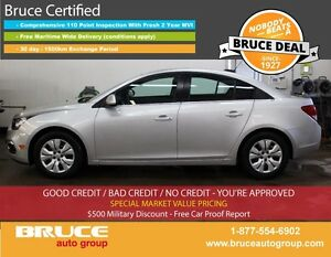 2016 Chevrolet Cruze LIMITED LT 1.4L 4 CYL TURBO AUTOMATIC FWD 4