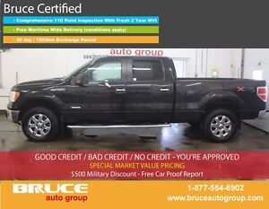 2013 Ford F-150 XTR 3.5L 6 CYL ECOBOOST AUTOMATIC 4X4 SUPERCREW