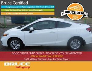 2015 Honda Civic LX 1.8L 4 CYL I-VTEC CVT FWD 2D COUPE BACK-UP C