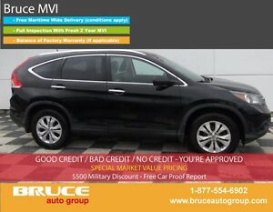 2012 Honda CR-V Touring 2.4L 4 CYL I-VTEC AUTOMATIC AWD LEATHER