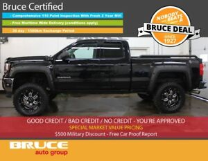 2016 GMC Sierra 1500 5.3L 8 CYL AUTOMATIC 4X4 EXTENDED CAB BRUCE
